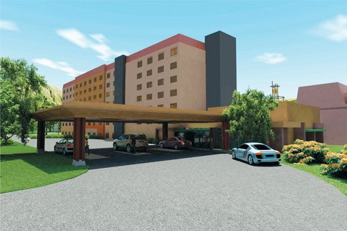 The design process is just beginning for a $36 million, 150-room hotel planned for an area adjacent to the Viejas Casino near Alpine. A representative of the Viejas Band of Kumeyaay Indians said tribal leaders will review several design concepts prior to settling on one.