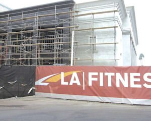 Going up: LA Fitness under construction on former Mervyns site in Irvine
