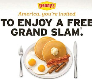 Denny's: limited-time offers helped chain to first overall increases in sales in four years
