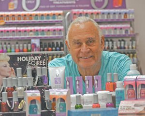 Colors: Jeff Pink with some ORLY products.