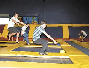 Recreation: Sky High Sports attracts kids and adults.