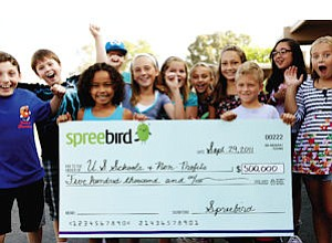 Spreebird: $500,000 from daily deals to schools, nonprofits