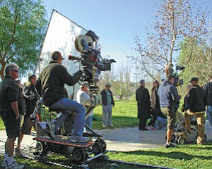 Activity: Santa Clarita recognized for its film friendly stance of its employees.