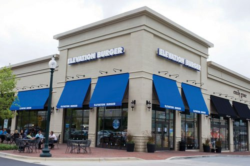 Elevation Burger recently debuted in Carlsbad and has more eateries planned for San Diego County. A Maryland location is shown in this photo.
