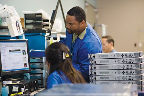 .ViaSat is one of the high-tech companies looking to add to its workforce. A recent advertising campaign publicizes San Diego as a high-tech center with many job openings.