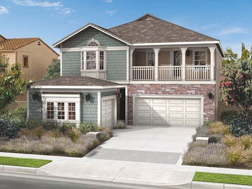 Pardee Homes' Brightwater new-home neighborhood is opening in Pacific Highlands Ranch this month. Pricing for these four- to five-bedroom homes is anticipated to be from the high $800,000s.