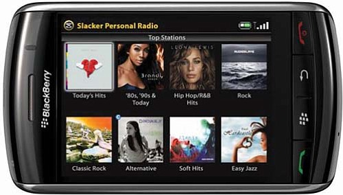 Slacker Internet radio has agreements with AT&T, Verizon and other well-known companies.