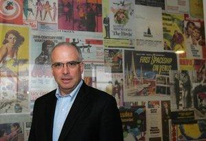 Mitch Rubenstein at West L.A. headquarters of Baseline.