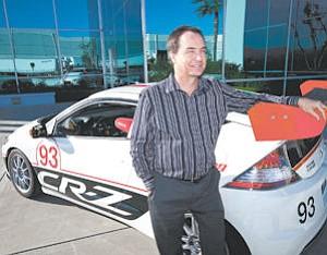 Zoom: Honda Performance Development's Marc Sours outside the Valencia headquarters.
