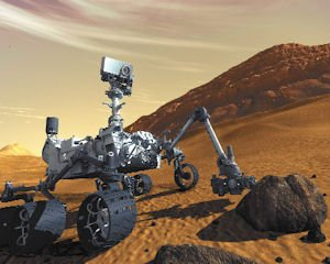 Innovation: Bohemian Grey spent nine months on the Mars rover animated film, depicted above.