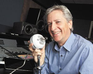 Recording: Blue Microphone CEO John Maier with the Snowball, one of several microphones that can attach to electronic devices.