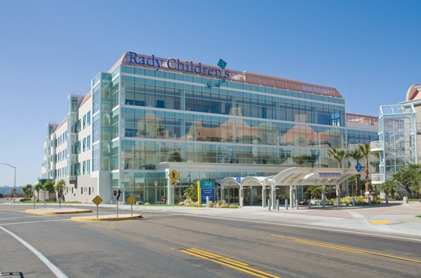 The Acute Care Pavilion made Rady the largest children's hospital in California, says Kathleen A. Sellick, president and CEO of the hospital.