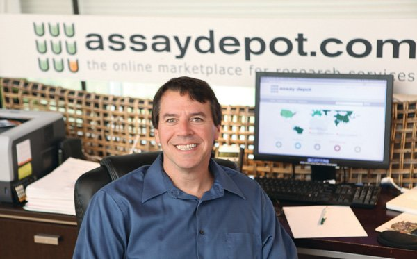 Kevin Lustig is CEO of The Assay Depot Inc., which has developed an online marketplace that pharmaceutical companies can use to shop for outsourcing help in more than 600 drug research areas.