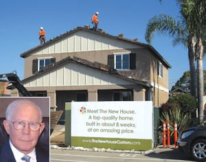 Simon, house in East Costa Mesa: bucking old customs with infill strategy, other projects