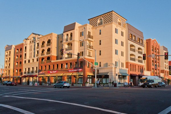The City Heights Square mixed-use project, which offers 21,000 square feet of retail space, rental living units and three levels of parking, has been completed in the City Heights neighborhood of San Diego.