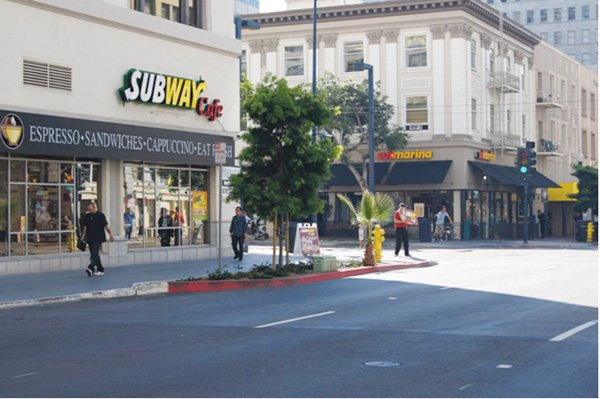 The first California location of Subway Café, shown here, opened in the Gaslamp Quarter in September. It was followed in November by the debut of a café eatery in Mission Hills.