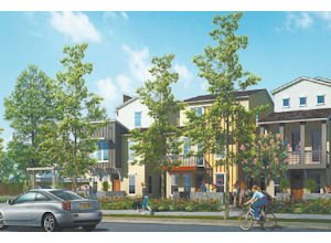 Living: An artist's rendering of a condominium project proposed in Burbank.