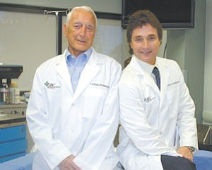 Family: Dr. Richard (left) and Dr. Peter Grossman have shown that burn centers can deliver on excellent care - and profits for the hospitals hosting them.