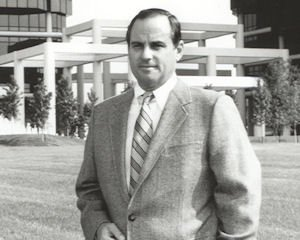 1980s namesake: developer at Koll Center Irvine, now Irvine Towers