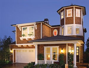 Model home: part of planned 365-home community in Huntington Beach