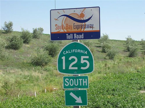 The San Diego Association of Governments is taking steps to purchase South Bay Expressway, the southern portion of state Route 125. The negotiated price for the road is $341.5 million.