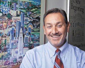 Development: Brad Rosenheim sees his job as formulating good projects that can win the backing of developers, the community and politicians.