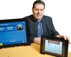 Technology: Ceiva Logic's core product is an Internet-enabled photo frame that will offer minute by minute energy usage data.