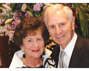 Humanitarian: Deukmejian, with wife Gloria, was honored by Armenian EyeCare Project