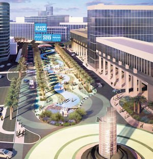 Grand Plaza: outdoor event space planned for convention center campus