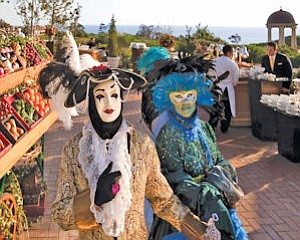 Pelican Hill: themed offerings include Italian Village events