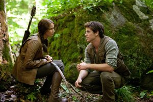 A scene from 'Hunger Games,' which Lions Gate will release in March.