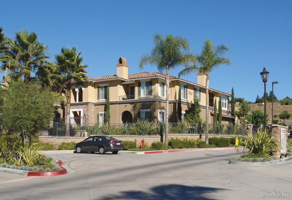 The $80 million acquisition of Monarch at Shadowridge in Vista, by Dallas-based Invesco Advisors Inc., was among several late-year transactions that helped the county double its apartment property sales volume in 2011 over the prior year.