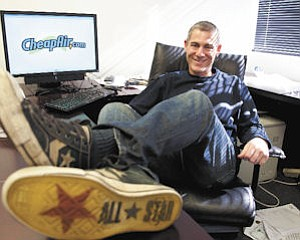 Tickets: Jeff Klee's business migrated from a college dorm room to a call center to an online operation. Revenues have neared $10 million the past two years.