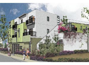 Living: The Mid-Celis apartment project  in San Fernando will have 20-units for low-income individuals.
