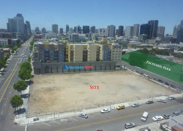 Holland Development, in partnership with Real Estate Capital Partners, has purchased property at the northwest corner of 15th and Market streets in San Diego for $7.25 million. A mixed-use project with approximately 240 apartments over ground-floor retail is planned for the 61,845-square-foot site.