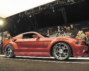 Auto: Money from Mustang auction went to St. Jude Children's Research Hospital.