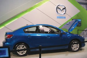 Skyactiv: Mazda3 featuring the efficiency-boosting technology was on display at last year's OC auto show
