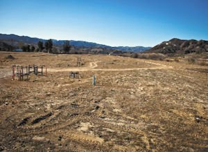 Empty: LNR Property LLC will build a new industrial park on this Santa Clarita land.