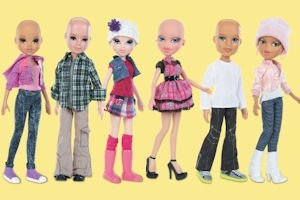 Comfort: Sales of the Bratz and Moxie Girls True Hope Doll Line will raise money for research and treatment at City of Hope.