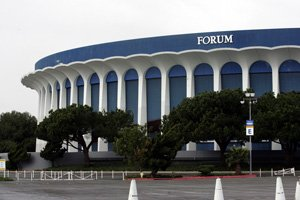 Inglewood's Forum sports venue.