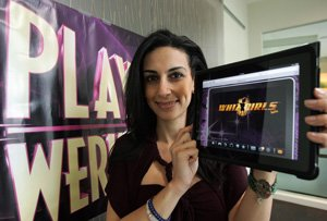 PlayWerks' Shirin Salemnia at her Los Angeles office.