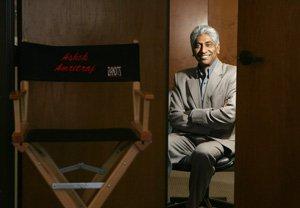 Hyde Park's Ashok Amritraj at his office in Sherman Oaks.