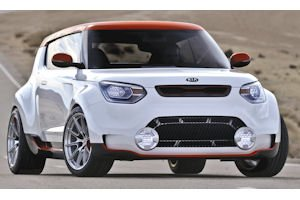Track'ster: concept car is two-door version of Soul with turbo-charged engine