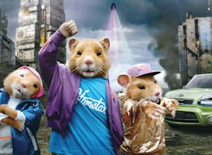 Hamsters: best-known element of Kia marketing?