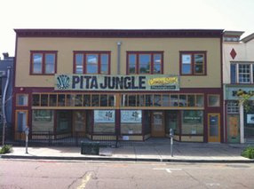 The restaurant chain Pita Jungle is bringing 80 jobs to this renovated 100-year-old former warehouse building in Hillcrest, where it plans to open a new full-service restaurant in mid-April.
