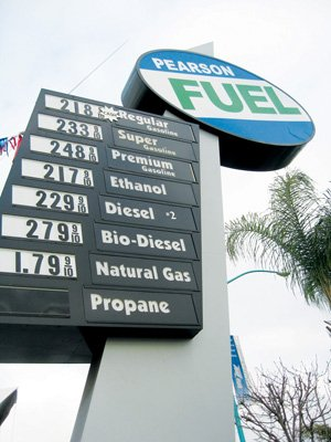 City Heights-based Pearson Fuels primarily distributes E-85 Ethanol, a mixture of gasoline and ethanol made mostly from corn grown in the Midwest.