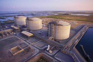 Sempra Energy runs the Cameron liquefied natural gas terminal near the Texas/Louisiana border. Sempra and partners hope to build a $6 billion export facility at the site.