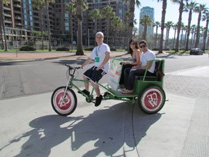 Pedicab in San Diego.