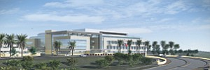 The Naval Replacement Hospital, scheduled for completion in January of 2014, is the largest American Recovery and Reinvestment Act project awarded by the Department of the Navy. The new hospital will serve active duty military from all service branches, reservists, retirees and family members.