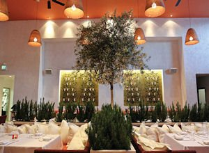 Fig & Olive: upscale atmosphere